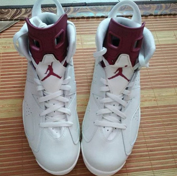 """fb8c4d31727599 Fashion) Air Jordan 6 """"Maroon"""" Is Coming Back With Nike Air On The ..."""