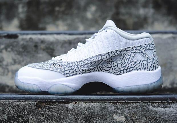 """lowest price 86613 8e42a AIR JORDAN 11 IE LOW """"COBALT"""". Color  White Cobalt-Zen Grey-Cement Grey. Style  Code  306008-102"""