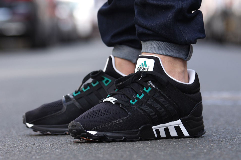 "a74e325948f Fashion) Adidas Originals EQT Support  93 ""Classic Black ..."
