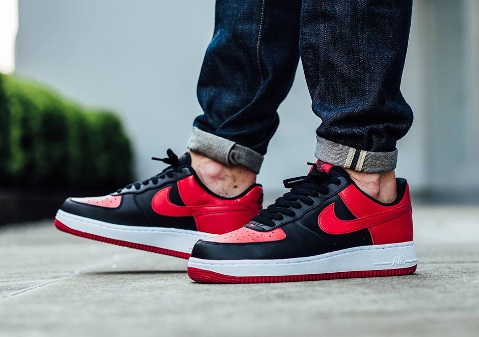 """Look FashionOn 1 """"bred The At Nike Force Foot Low Air W2IDHYEe9"""